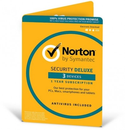Norton Security Deluxe 3.0 - 3 devices