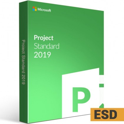 Microsoft Project Standard 2019 (ESD)