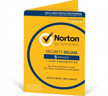 Norton Security Deluxe 3.0 - 5 пристоїв, 2 роки